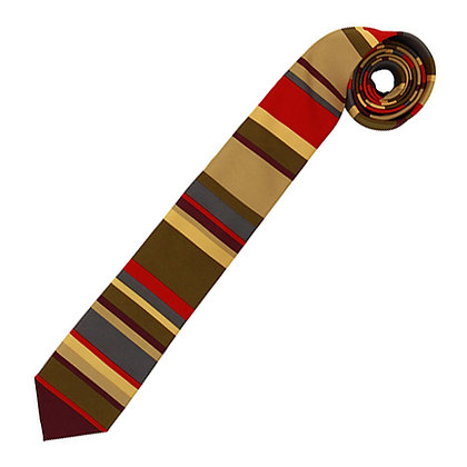 BBC DOCTOR WHO FOURTH DOCTOR NECKTIE