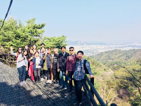 From a hiking trip to the Bukhan Mountain in Seoul, Korea. (February 2018)