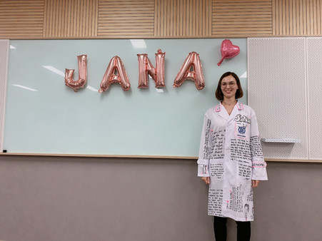 Jana's farewell!