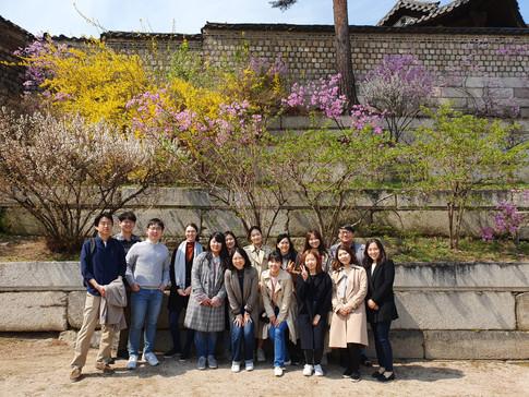 Spring picnic at Changgyeonggung!