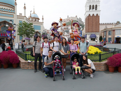Field Trip to Everland with the youngest members (In-Young, Ji-Yu)!