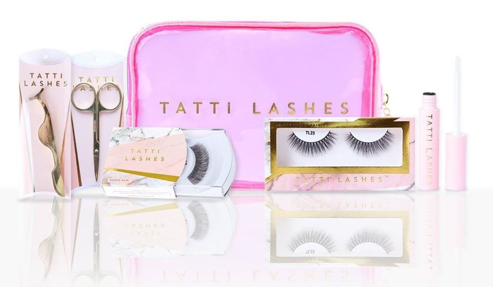 strip eyelashes by tatti lashes