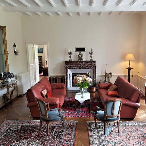 Petit salon du Manoir de Kergrec'h