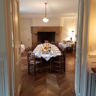 Petit déjeuner Manoir de Kergrec'h