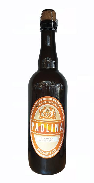 Bière Paolina au miel de Corse 75cl