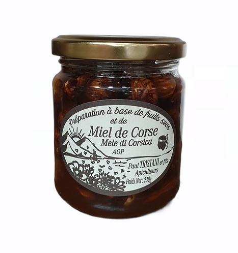 Miel de Corse aux fruits secs 230G