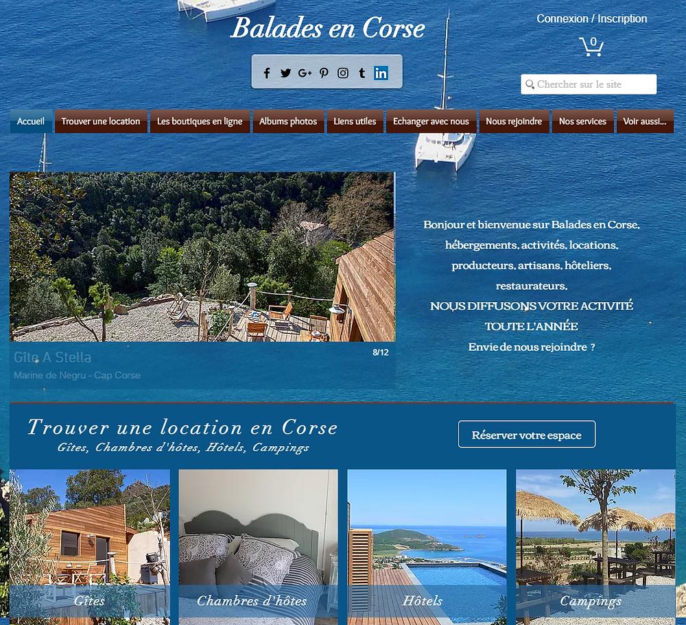 Location en Corse