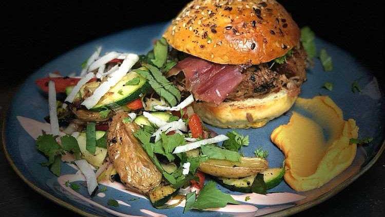 Burger mix Terre et Mer