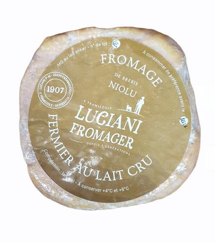 Fromage fermier Brebis Niolu
