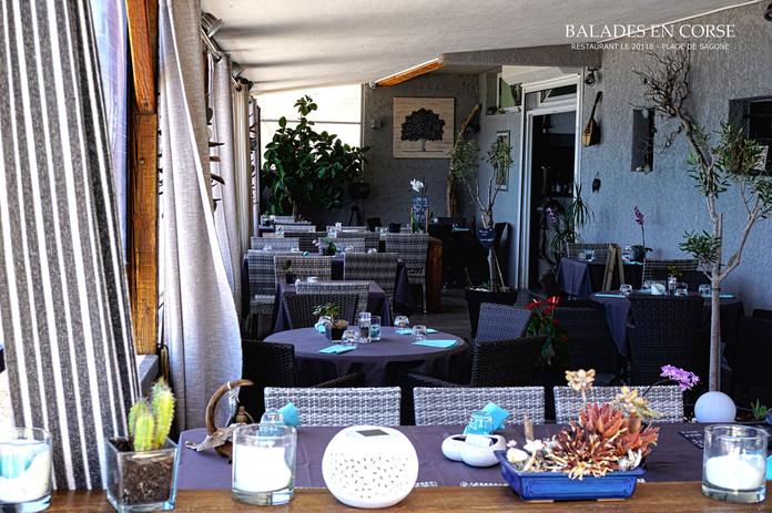 Restaurant le 20118 Sagone