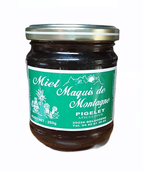 Miel Maquis de Montagne Pigelet 250G