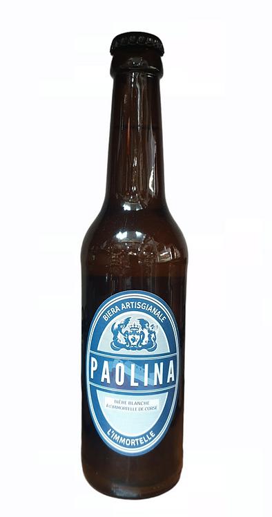 Bière Blanche Immortelle de Corse Paolina 33CL