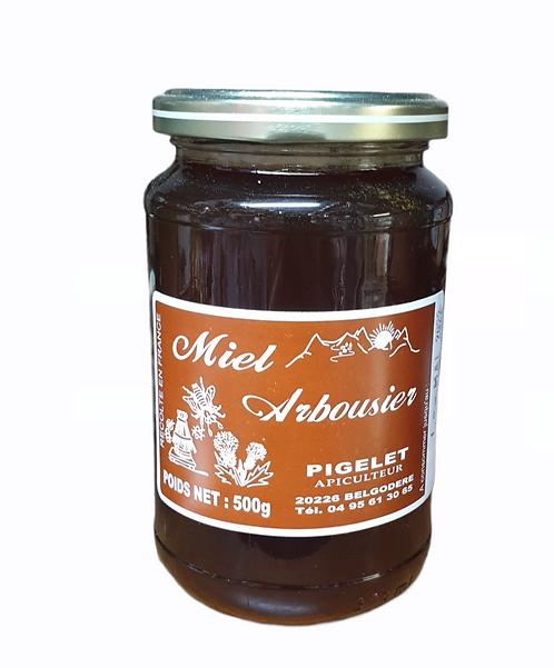 Miel d'Arbousier Pigelet 500G