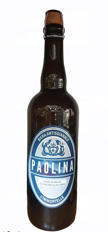 Bière Blanche Paolina à l'immortelle de Corse 75cl