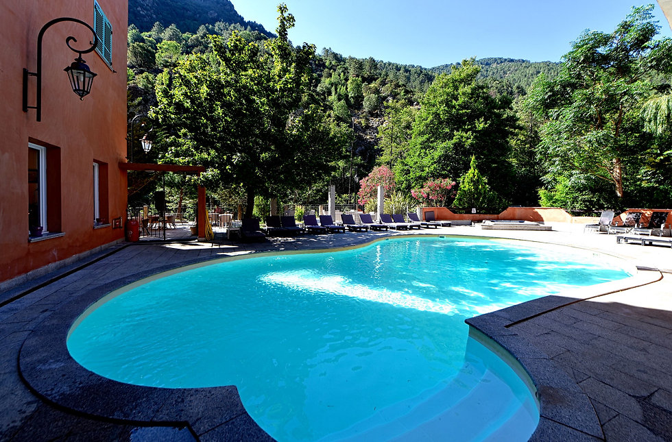 Hotel les jardins de la glaciere Restoni