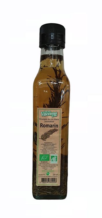 Vinaigre de vin Blanc Romarin 25CL