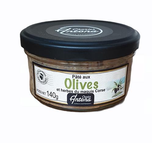 Pâté aux Olives et herbes du Maquis 140G