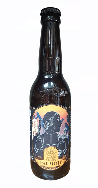 Bière Patriote 33CL Brasserie Gloria