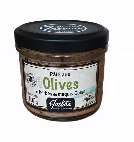 Pâté aux Olives et herbes du Maquis 100G