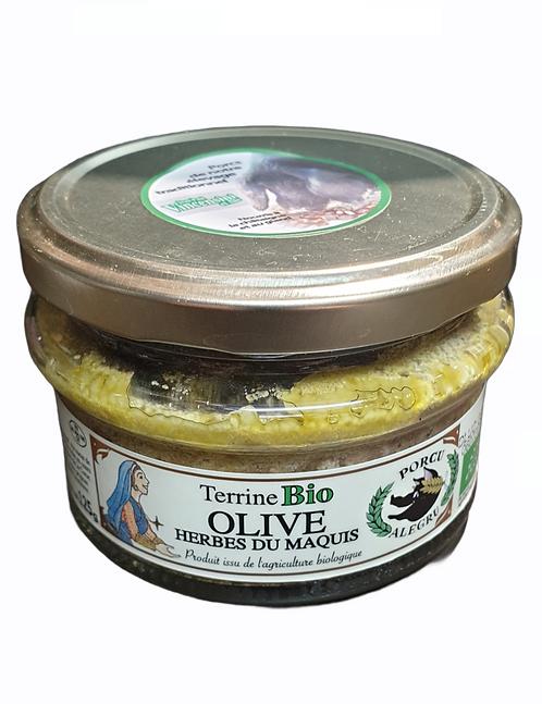 Terrine Olive aux Herbes du Maquis Bio