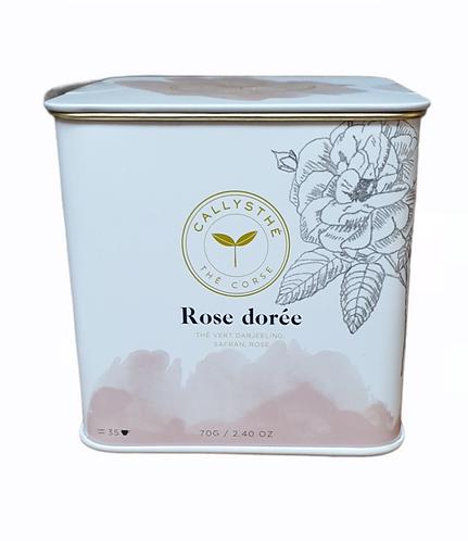 Thé Rose Dorée Callysthé 70G