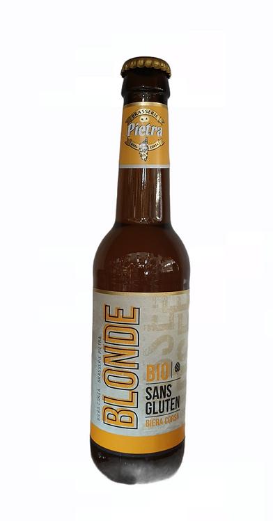 Bière Blonde Bio sans gluten 33CL