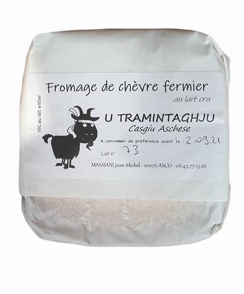 Fromage de chèvre fermier Massiani