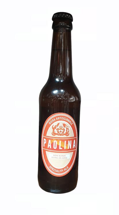 Bière Blonde Miel de Corse Paolina 33CL