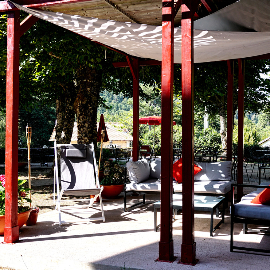 Le parc et les jardins - Hôtel Vizzavona