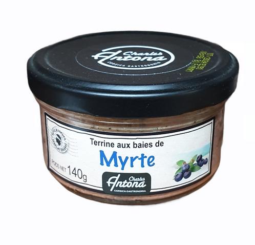 Terrine de Porc aux baies de Myrte 140G