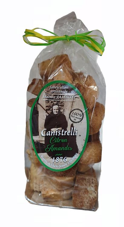 Canistrelli Citron Amandes 200G