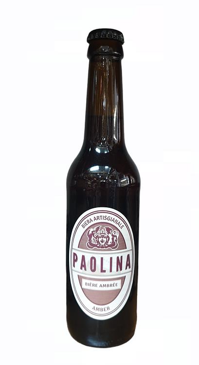 Bière Ambrée Paolina 33CL
