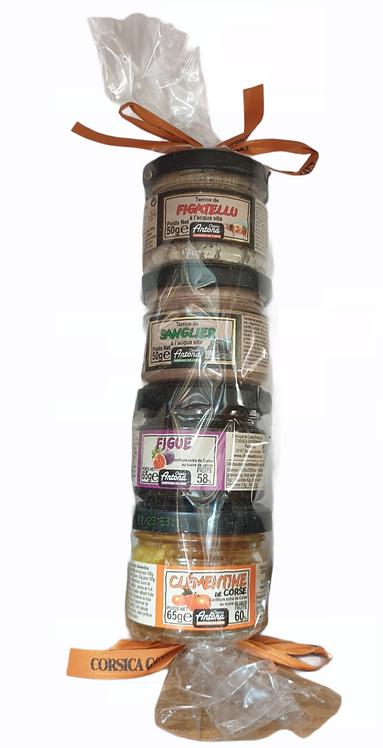 Mix Charcuteries & Confitures tube cadeau