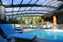 La piscine couverte