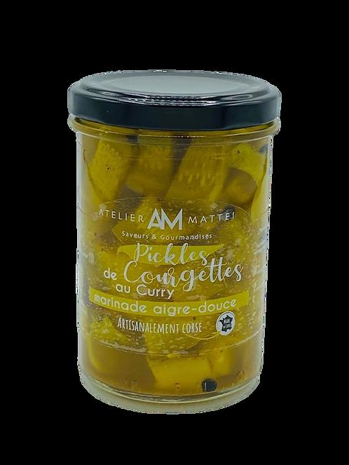 Pickles de Courgettes Corses au Curry