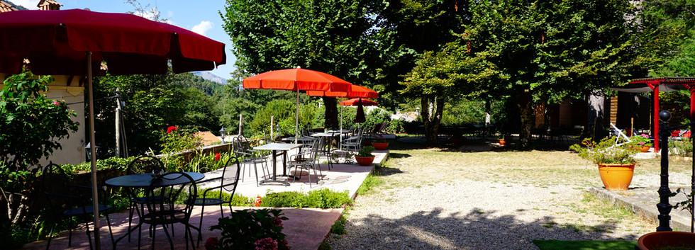 Le parc, les jardins - Hôtel le Vizzavona