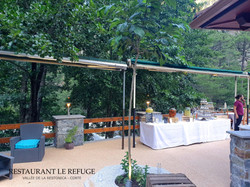 Événement restaurant le refuge Corte