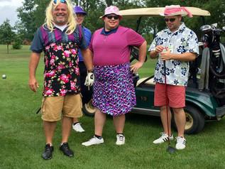 Golf Scramble Raises Funds, Provides Fun
