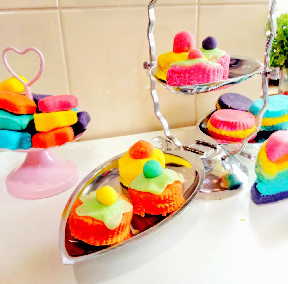 playdough cakes