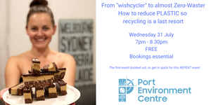 Plastic Free July in Port Adelaide