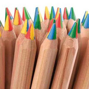 Zero waste Rainbow Pencils