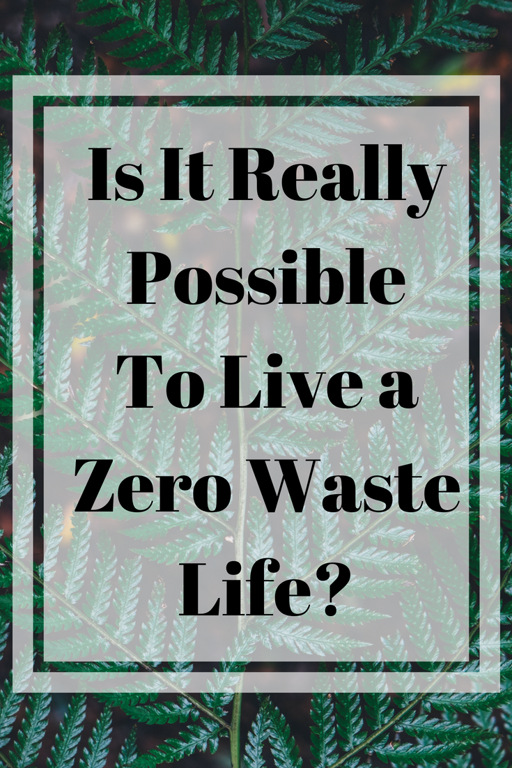Is It Really Possible to Live a Zero Waste Life
