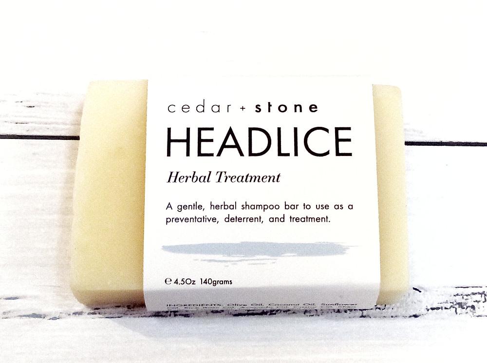 Head lice shampoo bar - plastic free