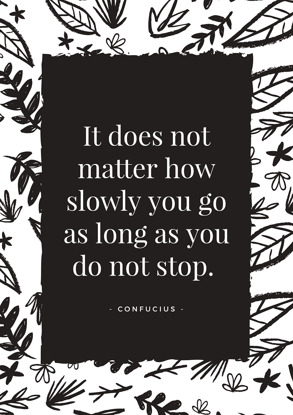 It doesn't matter how slow your zero waste journey goes, as long as you don't stop