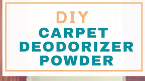 How to Make Carpet Deodorising Powder