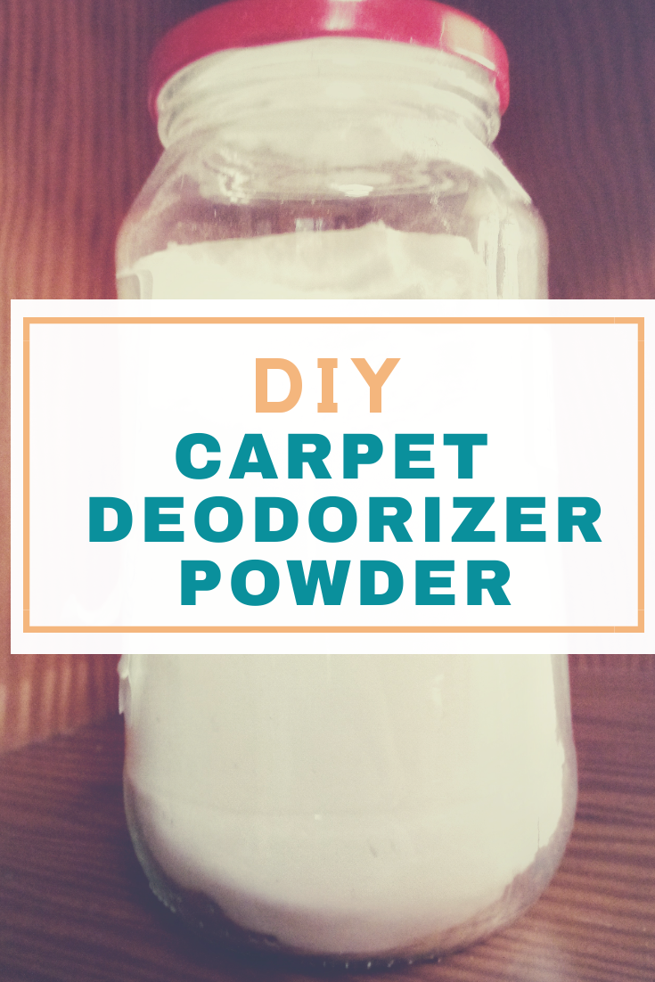 DIY Carpet Deoderizer Powder