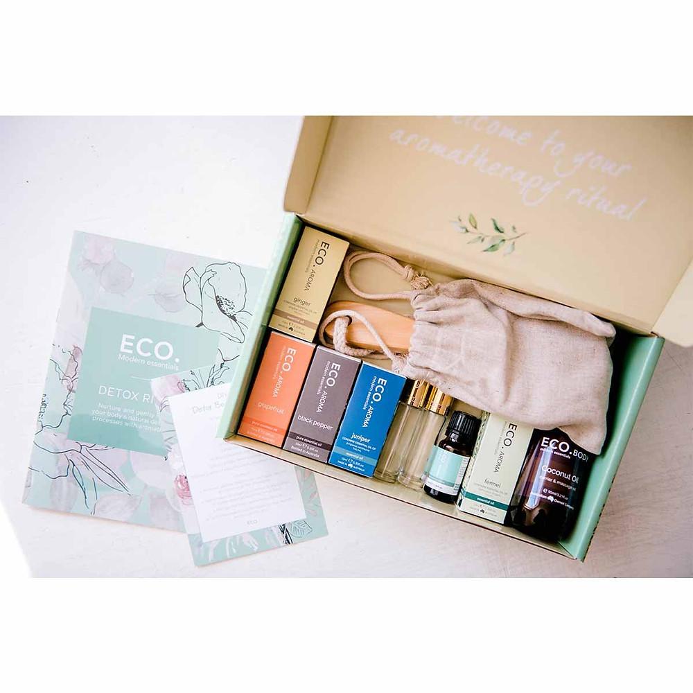 Essential Oil Wellbeing Box