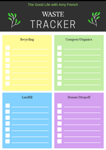 Simple Bin Audit Printable