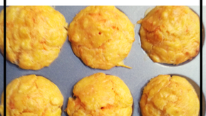 Mini Cheese and Carrot Muffins - Zero Waste Snack