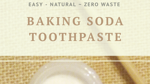 DIY Baking Soda Toothpaste